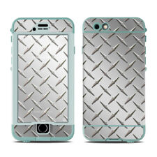 Skin for LifeProof Nuud iPhone 6S - Diamond Plate - Sticker Decal