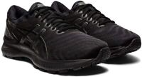 Asics GEL-NIMBUS 22 Black Mens Trainers Neutral Running Shoes Size 1011A680-002