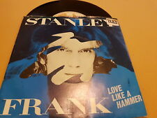 "Stanley Frank, Love Like A Hammer, Hot On You, UK, 1981, AMS 8123, Vinyl, 7"", 45"