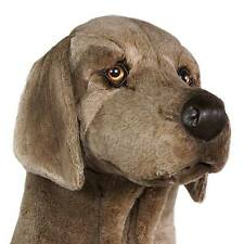 Weimaraner by Piutre, Hand Made in Italy, Plush Stuffed Animal NWT