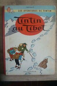 Tintin au Tibet Edition Originale Belge 1960 B29 TBE