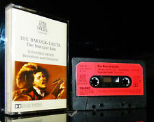 Die Barock Laute Toyohiko Satoh Das alte Werk Telefunken  tape Kassette MC