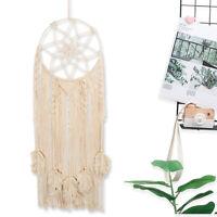 Large Macrame Dream Catcher with tassel Handmade Boho Wall Hanging Home Decor