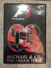 F1 DVD THE OFFICIAL 2003 SEASON REVIEW - Formula One (1) - Region 2