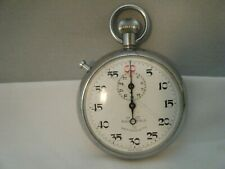Vintage Chesterfield Antimagnetic 1/5 Stopwatch Swiss Made Working.