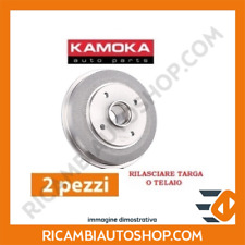 KIT TAMBURI FRENO POSTERIORE KAMOKA FIAT DOBLO CARGO 1.3 D MTJ KW:55 2005>2010 1