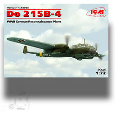 ICM 1/72 DORNIER DO 215B-4 WWII GERMAN RECONNAISSANCE PLANE KIT 72305