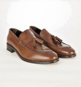 John White Style Charles Tan Tassle Loafers RRP £189.95