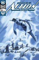 Superman  Action Comics #1004  Dc Comic Book  Foil Cover  Nm