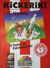 Programm 1997/98 SC Fortuna Köln - FC Nürnberg