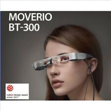 Epson Moverio BT-300 Smart Glasses true AR Si-OLED Display OTG HMD See-through