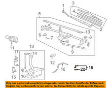 HONDA OEM Windshield Wiper Washer-Nozzle Spray Jet 76810S9VA01ZF