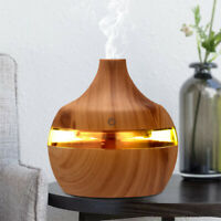 USB Electric Aroma air diffuser wood Ultrasonic air humidifier Essential oil Aro
