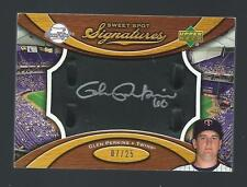 2007 Sweet Spot Glen Perkins Auto Black Glove Leather Silver Ink /25