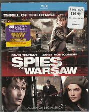 SPIES OF WARSAW (2013) BBC Blu Ray NEW Unopened with Slipcover David Tennant