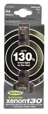 Brand New Ring Automotive Xenon H4 130% Brighter 12V 55/60w Bulbs X2 Per Pack.