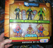 EXCLUSIVE DC UNIVERSE DEFENSE OF OA GIFT PACK, NEVER OPENED  6 FIGURES