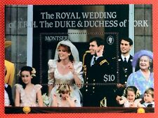 ZAYIX - 1986 Montserrat 617 MNH - Royal Wedding SS