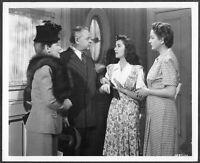 Elizabeth Taylor 1947 Original Promo Photo Cynthia Mary Astor Gene Lockhart
