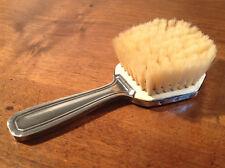 Ancienne brosse à cheveux de bébé en argent - poinçon minerve - Art déco