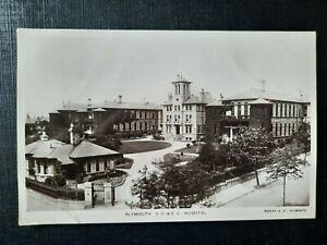 Plymouth S.D. & E.C. Hospital- Bazley & Co. Real Photo Postcard