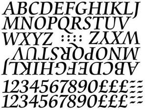 """25mm 1"""" Capital Letters, 2 Sets A-Z & 0-9, use for Signs, Names, Many Colours !"""