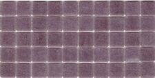 50pcs VTC25 Pale Mauve Bisazza Vetricolor Glass Mosaic Tiles 2cm x 2cm
