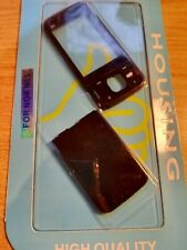 Replacement Nokia N85 Fascia, housing, battery cover with keypad set - black