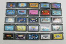 Lot of 25 Game Boy Advance Games - Mario vs Donkey Kong, Lego Star Wars, Dogz