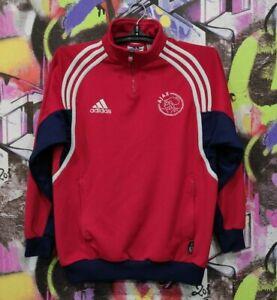AFC Ajax Football Soccer Longsleeve Top Vintage Adidas 2000 Youth L / Mens XS