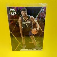 Zion Williamson Mosaic Nebula Prizm Rookie - VINYL STICKER - Pelicans RC