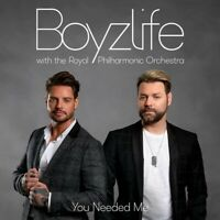 Boyzlife - Strings Attached CD With The Royal Philharmonic Orchestra