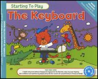 Starting To Play The Keyboard Sheet Music Book with CD Method Learn How