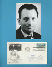 Alexander M Prochorov (Nobel Prize Physic 1964)  Signed National Academy Science