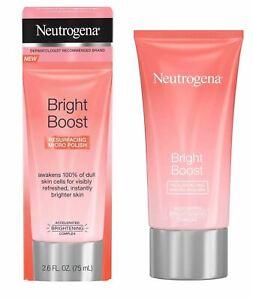 Neutrogena Bright Boost Resurfacing Micro Polish - 2.6 oz