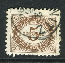 AUSTRIA;  1894 early Postage Due issue fine used 5k. value