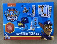 New Game Set 4-in-1 PJ MASKS Memory Match Dominos Rummy Go Fish