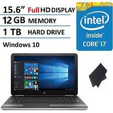 """NEW HP Pavilion 15-au063 15.6"""" Laptop -- Intel i7-6500U/ 12GB RAM/ 1 TB/ Win 10"""
