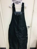 Arctix Insulated Woman's Overalls Black Snow Cold Ski Size 3XL Pre-Owned ETop AA