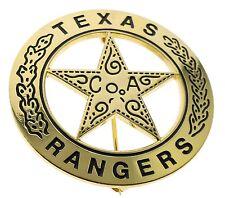 Replica Old West Texas Ranger Badge 18k Gold Tone H40070D54
