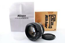 [MINT] Nikon NIKKOR Ai 50mm f/1.2 S Manual Focus Lens From Japan #970