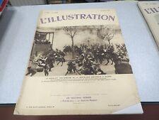 L ILLUSTRATION N° 4860 25 AVRIL 1936 ANNIVERSAIRE REPUBLIQUE ESPAGNOL A MADRID