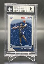2019-20 PANINI HOOPS WINTER ZION WILLIAMSON #258 BGS 9 MINT