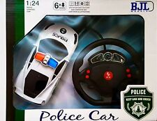 RC Police radiocomando scala 1:24 auto con led-modello Racing-Ideal Gift