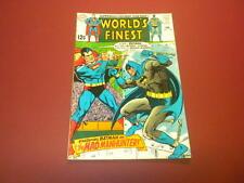 WORLD'S FINEST #182 DC Comics 1969 Superman and Batman