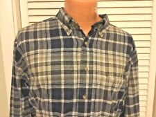 VTG Pendleton Mens Button Down Long Sleeve Plaid Virgin Wool Made In USA Size XL