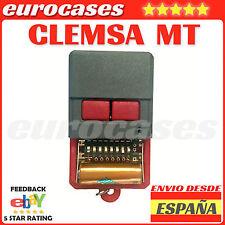 MD20 MANDO DE GARAJE CLEMSA MT1 MT2 MT-1 MT-2 MTH-2 PUERTA PORTON PESTAÑAS