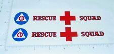 Tonka Rescue Squad Box Van Stickers             TK-010