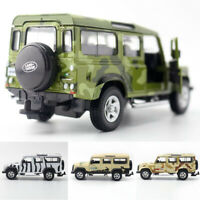 1:36 Land Rover Defender SUV Safari Model Car Diecast Gift Toy Vehicle Kids Boys