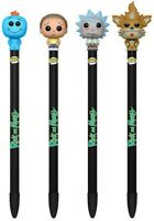 POP! PEN TOPPERS RICK / MORTY / SQUANCHY / MESSA - CHOICE OF 4 DIFFERENT PENS